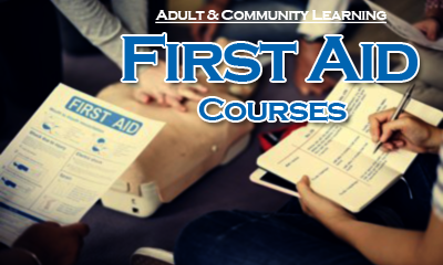 Adult & Community Learning First Aid Courses