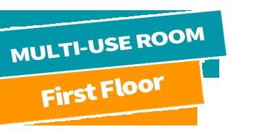 Multi-use room high floor
